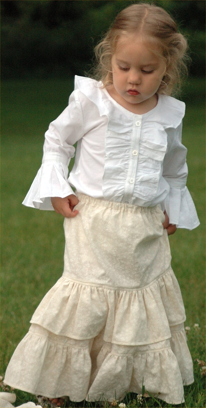 prairie princess skirt