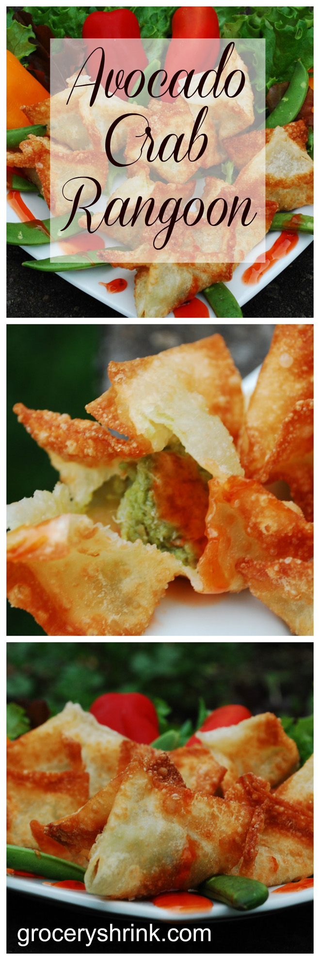 Avocado Crab Rangoon