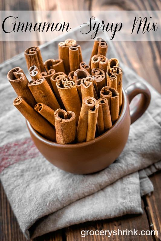 cinnamon syrup mix