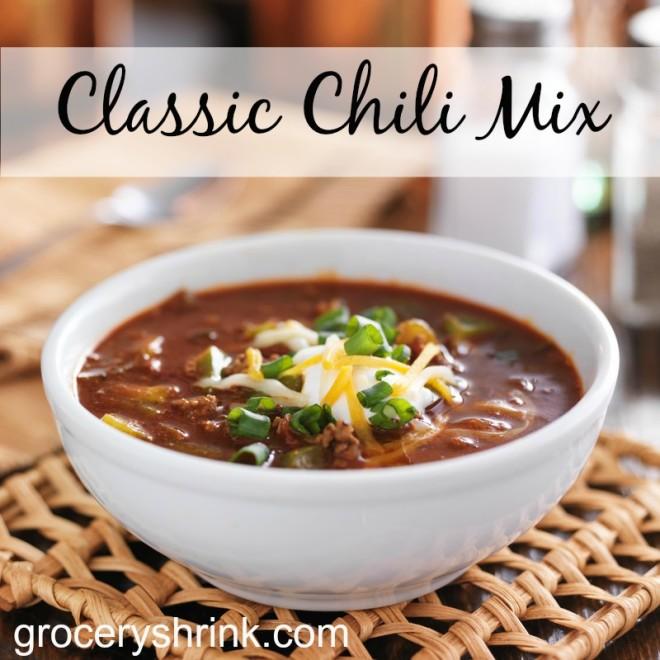 classic chili mix