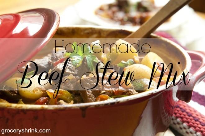 homemade beef stew mix