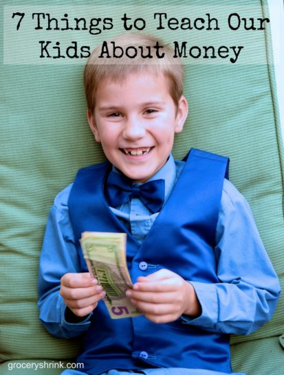 7 things to teach our kids about money