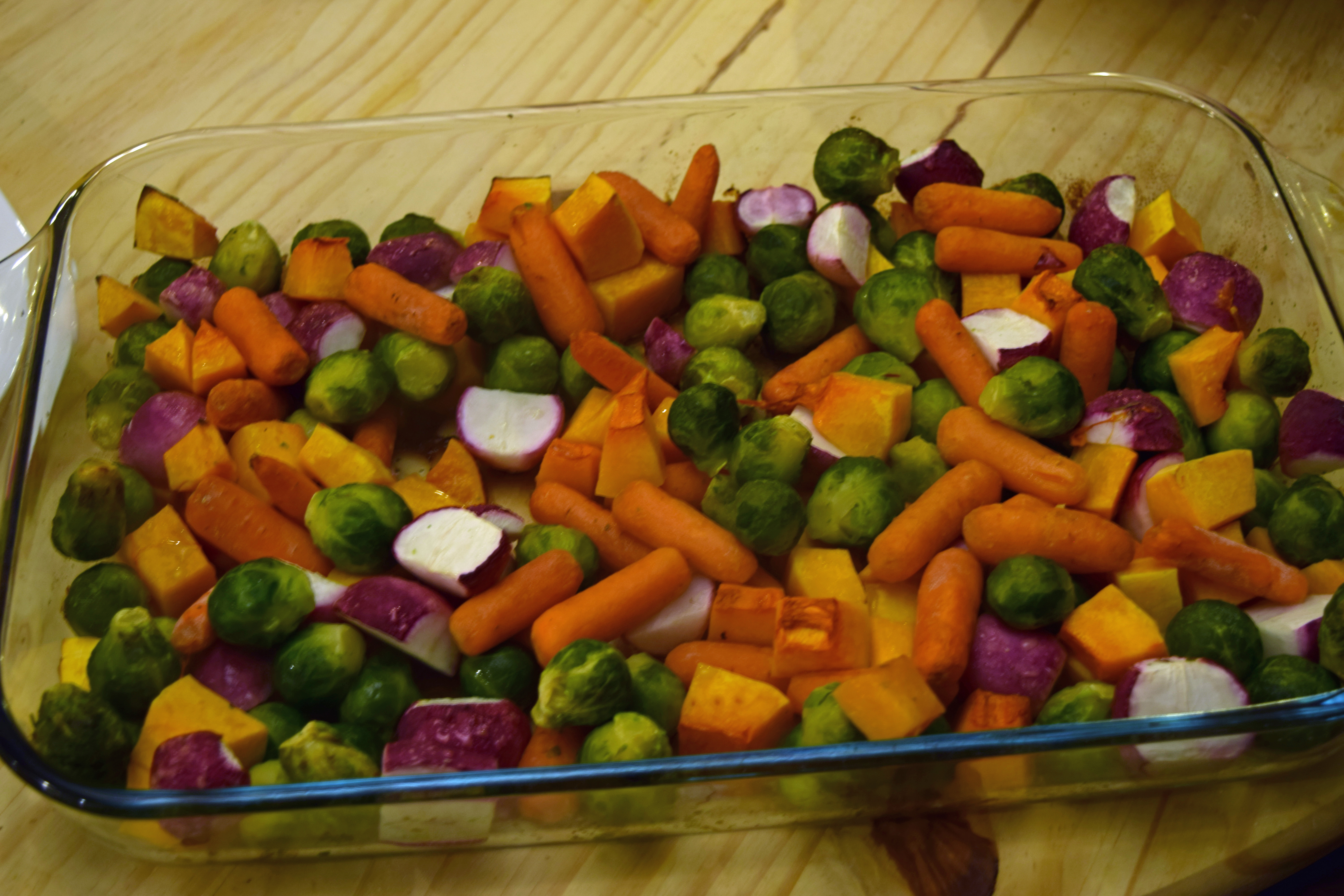 Roasted Winter Vegetables After 2
