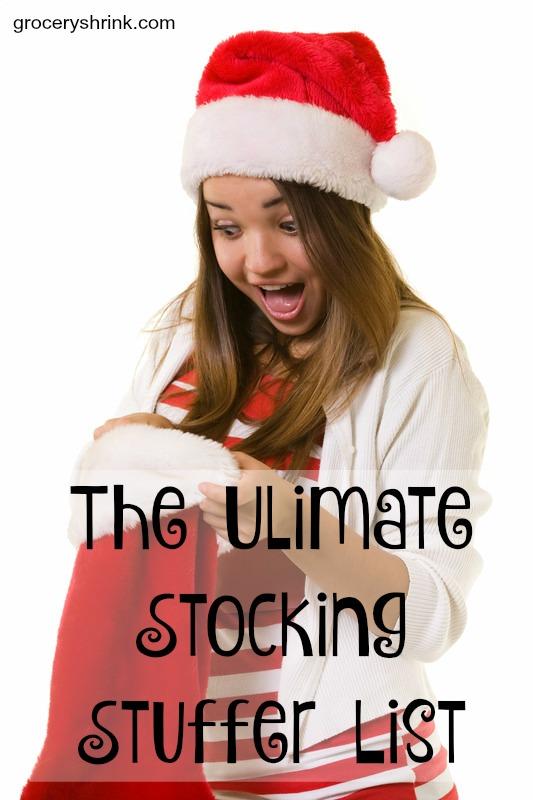the ultimate stocking stuffer list