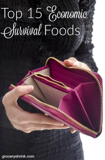 Top 15 Economic Survival Foods