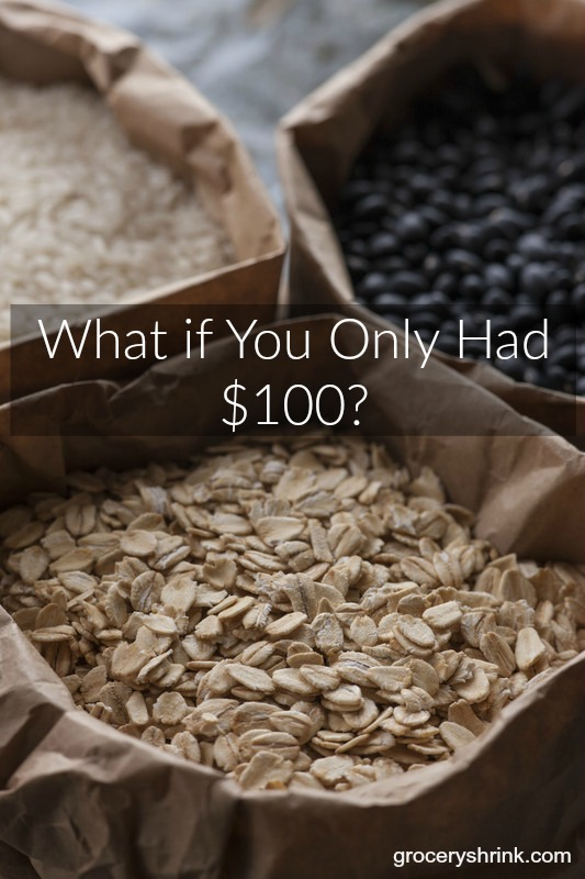 What if you only had $100