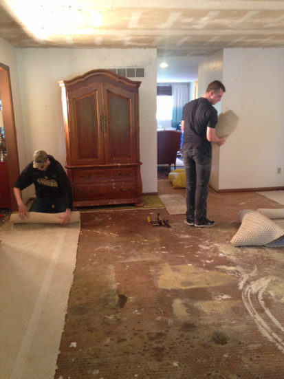 Living Room Demo Day