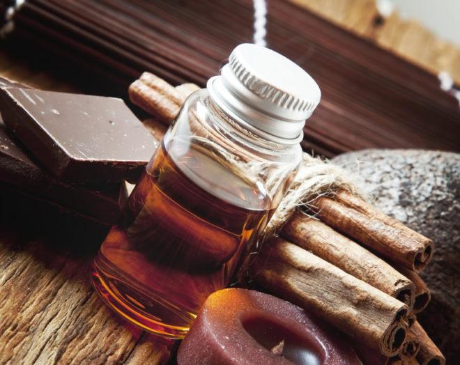 massage oil chocolate