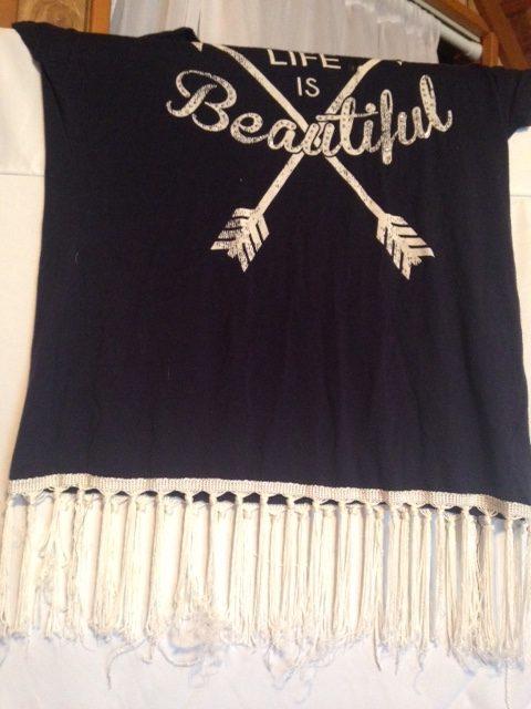 Fringe shirt 1