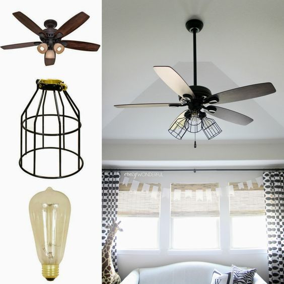 farmhouse ceiling fan