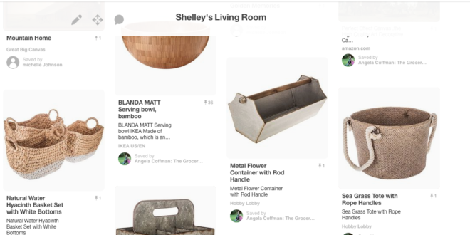 Shelley's living room private Pinterest