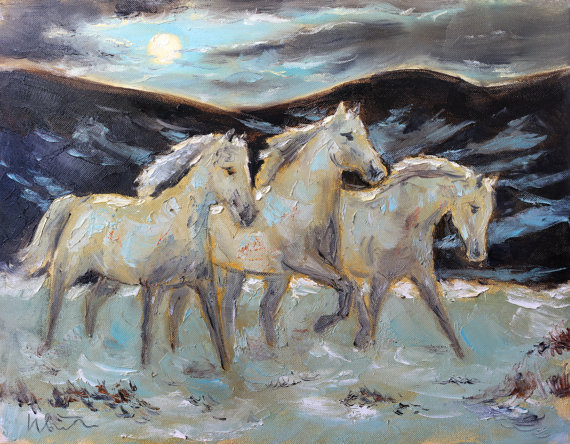 horse-painting-on-etsy