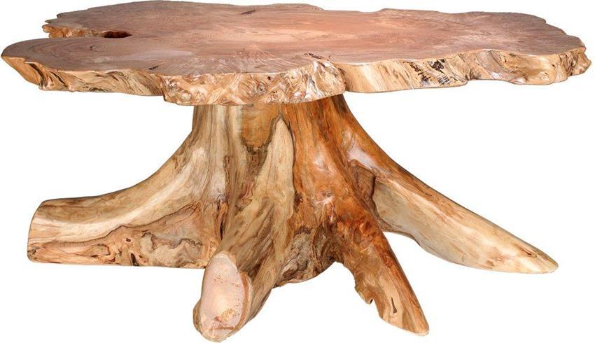 Diy Stump Table Grocery Shrink