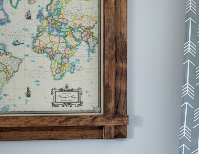 Easy Diy Rustic Pine Picture Frame Grocery Shrink