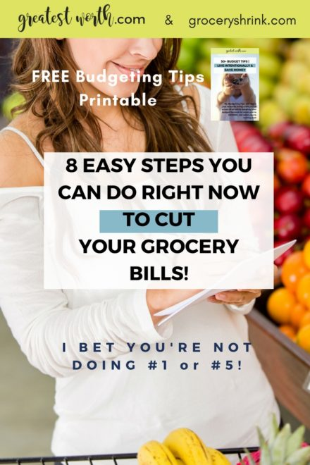 8 Easy Steps You Can Take Right Now To Cut Your Grocery